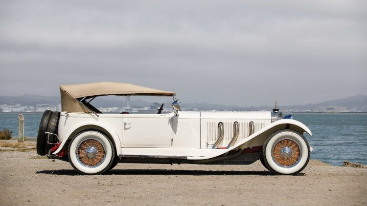 1928 Mercedes Benz 26/120/180 Type S Sports 4