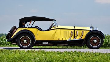 1928 Mercedes-Benz S-Type 26 180 Sports Tourer