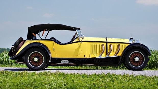 1928 Mercedes-Benz S-Type 26 180 Sports Tourer