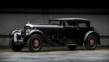 1930 Bentley 6 ½-litre Speed Six Sportsman's Saloon with coach work by Corsica