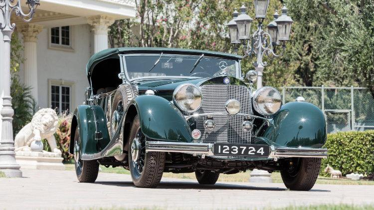 1936 Mercedes-Benz 500 K Offener Tourenwagen by Sindelfingen front
