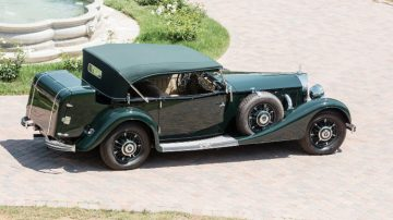 1936 Mercedes-Benz 500 K Offener Tourenwagen by Sindelfingen rear
