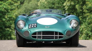 2017 Monterey Week Top 10 Auction Results