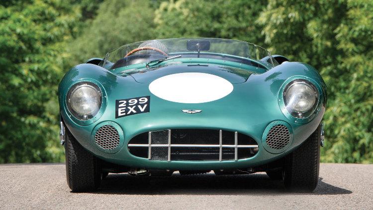 1956 Aston Martin DBR1 Front