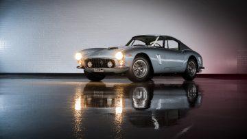 silver 1961 Ferrari 250 GT SWB Berlinetta