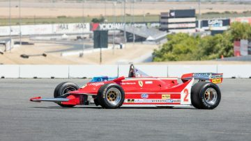 1980 Ferrari 312 T5 Single Seater Formula 1