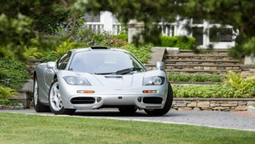 2017 Bonhams Quail Lodge Sale (McLaren F1 Announcement)
