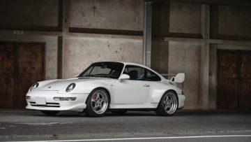 White 1995 Porsche 911 GT2