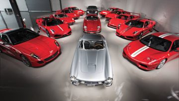2017 RM Sotheby's Monterey Sale (Ferrari Performance Collection Announcement)