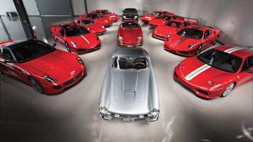 2017 RM Sotheby's Monterey Sale (Ferrari Performance Collection Announcement)