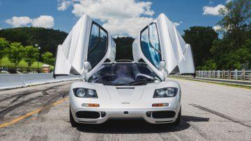 1995 McLaren F1 Doors Open from Front