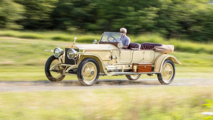 1913 Rolls-Royce London to Edinburgh Silver Ghost