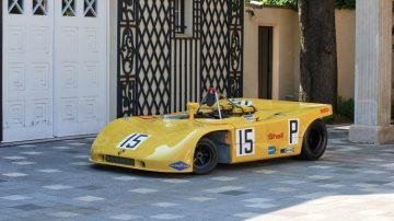 Yellow 1970 Porsche 908/03