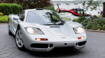 1995 McLaren F1 Silver