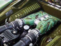 2010 Ferrari 458 Italia Engine