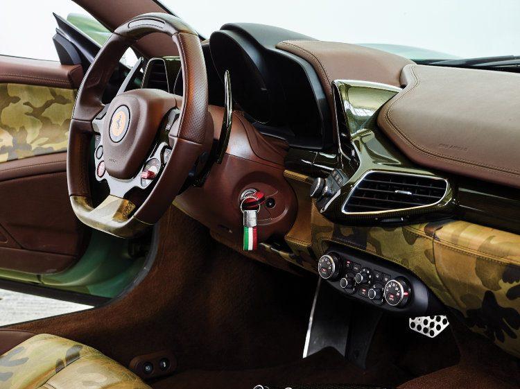 2010 Ferrari 458 Italia Interior
