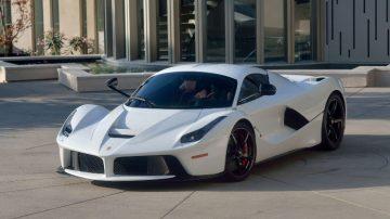 White 2015 Ferrari LaFerrari