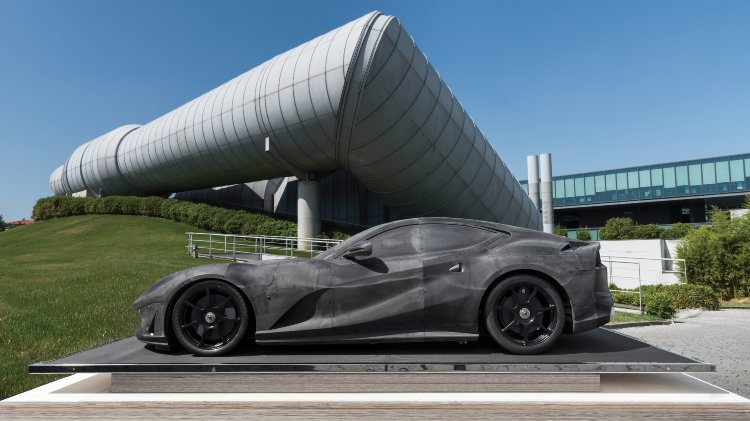 Ferrari 812 Superfast Wind Tunnel Model, Scale 1:2