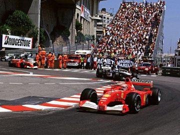 2001 Ferrari F2001 Chassis 211 at Monaco