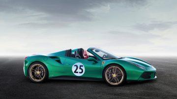 2016 Ferrari 488 Spyder Green Jewel