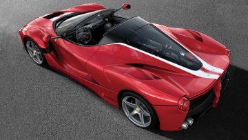 2017 Ferrari LaFerrari Aperta 210 Rear
