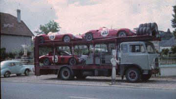 1964 Le Mans 24 Hours Ferraris