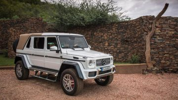 2017 Bonhams De Zoute Sale (Mercedes-Benz G650 Announcement)