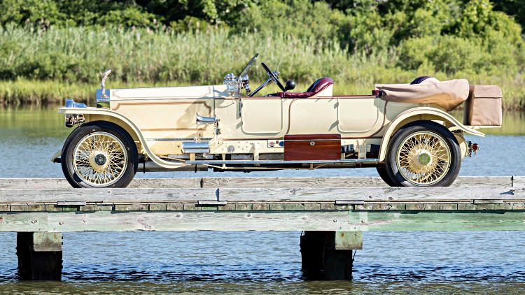 1913 Rolls-Royce Silver Ghost London-to-Edinburgh Side Profile
