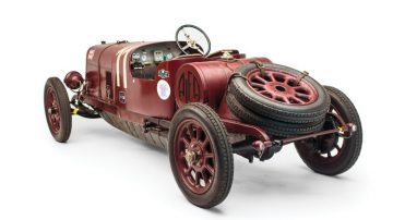 1921 Alfa Romeo G1 Top Rear