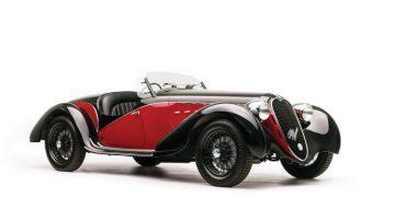 1942 Alfa Romeo 6C 2500 SS Spider