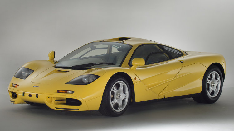 1997 McLaren F1 Yellow