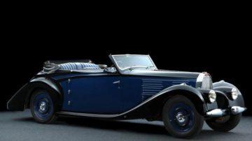 1939 Bugatti Type 57 Cabriolet,