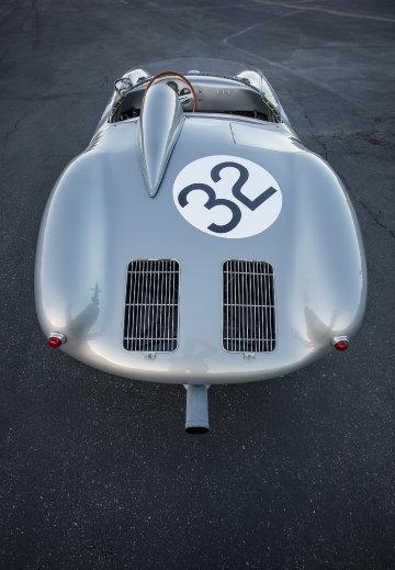 1958 Porsche 550A Spyder Above