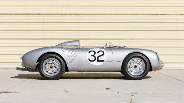 1958 Porsche 550A Spyder Side Profile
