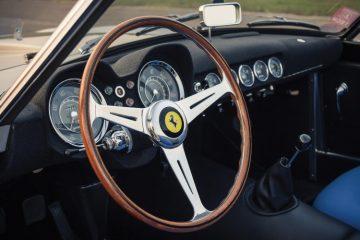 1959 Ferrari 250 GT LWB California Spider Competizione interior