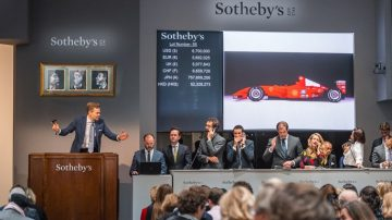 2001 Ferrari F1 Sold at Sotheby's