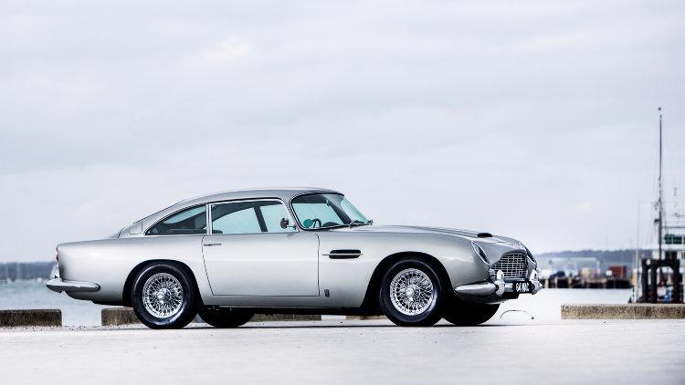 Bonhams London Bond Street Sale Celebrity Cars Top Classic - 1964 aston martin for sale