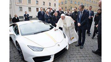2018 RM Sotheby's Monaco Sale (Pope's Lamborghini Huracán Announcement)