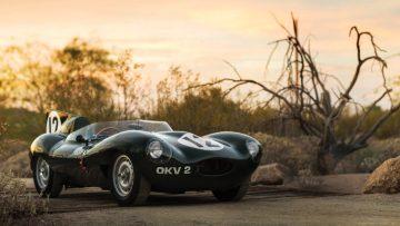 1954 Jaguar D-Type Works, OKV2