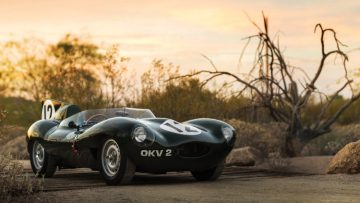 1954 Jaguar D-Type Works, OKV2