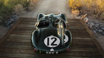 1954 Jaguar D-Type Works Above