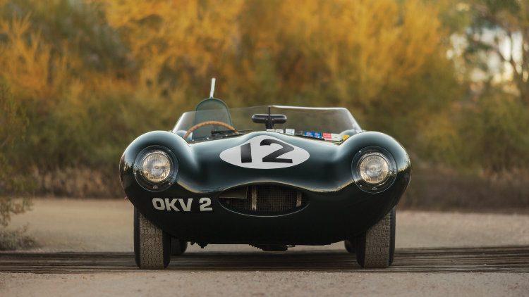 1954 Jaguar D-Type Works Front