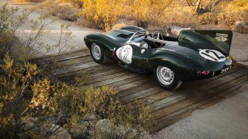1954 Jaguar D-Type Works Rear Quarter