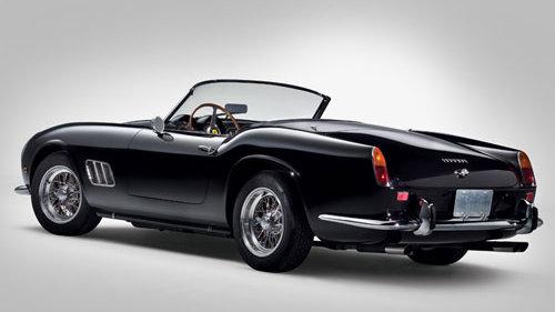 1961 Ferrari 250 GT SWB California Spyder © Courtesy of RM Auctions