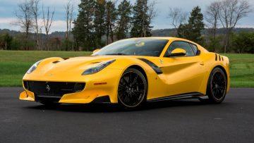 Yellow 2016 Ferrari F12tdf