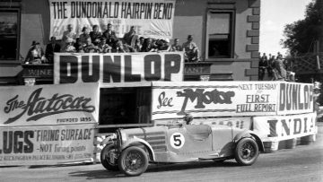 The 1935 Bugatti Type 57 3.3 Litre Tourist Trophy Torpedo is an ex-earl Howe and Pierre Levegh car.