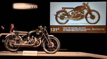 1951 Vincent 998cc Black Lightning – the Most-Expensive Motorcycle Ever