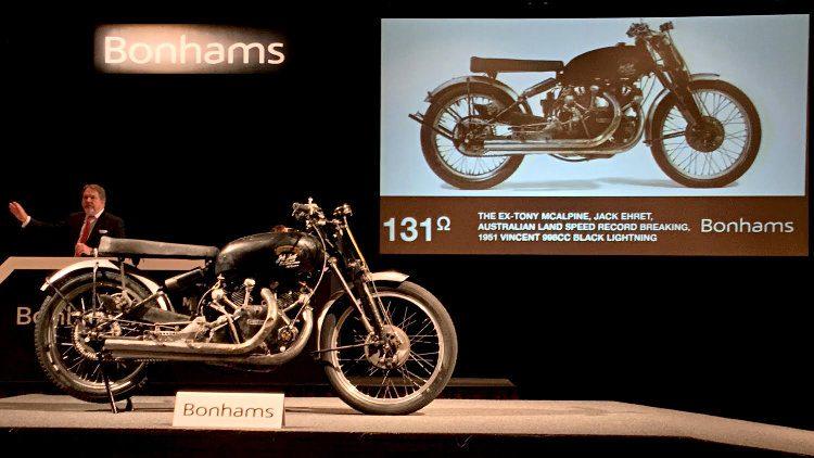 1951 Vincent 998cc Black Lightning at Auction