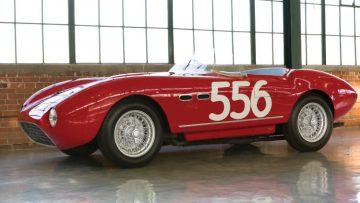 1953 Ferrari 166 MM Spider side