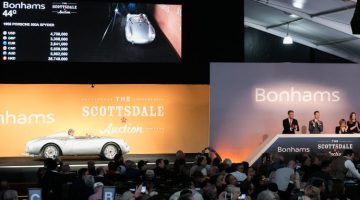 2018 Bonhams Scottsdale Classic Car Sale Auction Results